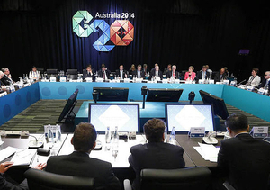 RSPP President Alexander Shokhin participated in the B20 events in Brisbane, including the B20 dialogue with the G20 leaders