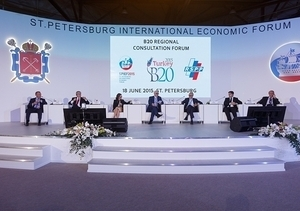 RSPP held the B20 Regional Consultation Forum on the sidelines of the St. Petersburg International Economic Forum (SPIEF)