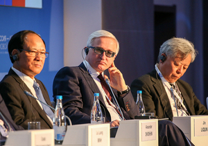 Alexander Shokhin, President of the Russian Union of Industrialists and Entrepreneurs (RSPP) addressed the plenary session of the ASEAN-Russia Business Forum in Sochi on May 19, 2016