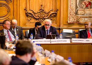 RSPP President Dr. Alexander Shokhin addressed the BIAC, OECD and B20 events in Paris