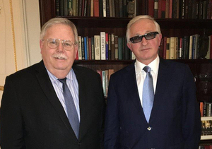 RSPP President Alexander Shokhin met with US Ambassador to the Russian Federation John F. Tefft