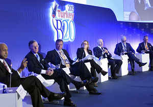 RSPP President Alexander Shokhin participated in the B20 Turkey Inaugural Meeting