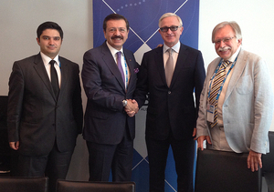RSPP President Alexander Shokhin held a number of bilateral meetings on the sidelines of the B20 events in Brisbane