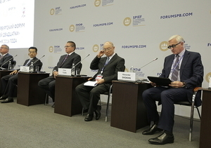 RSPP in partnership with the China Council for the Promotion of International Trade (CCPIT) organized the B20 Forum in the framework of the St. Petersburg International Economic Forum